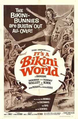 It's a Bikini World - 11 x 17 Movie Poster - Style A
