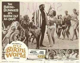 It's a Bikini World - 11 x 14 Movie Poster - Style B