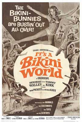 It's a Bikini World - 27 x 40 Movie Poster - Style A