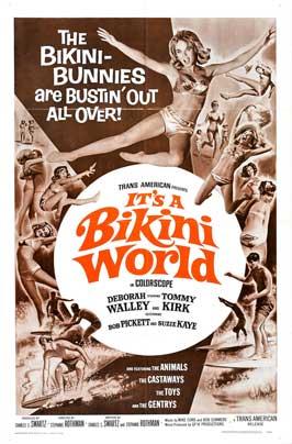 It's a Bikini World - 11 x 17 Movie Poster - Style B