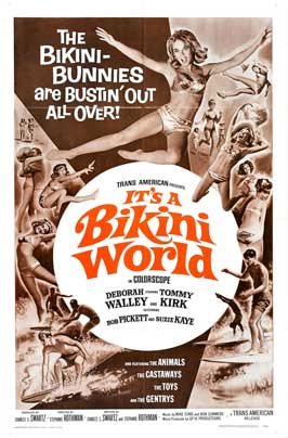 It's a Bikini World - 27 x 40 Movie Poster - Style B