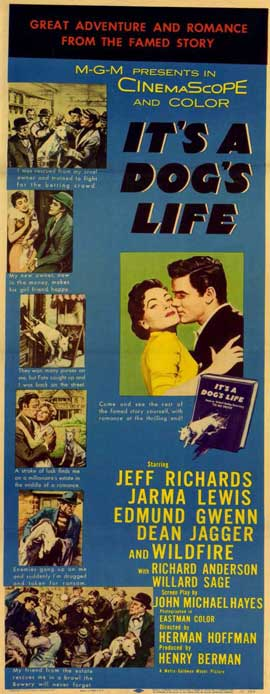 It's a Dog's Life - 14 x 36 Movie Poster - Insert Style A
