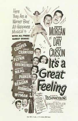 It's a Great Feeling - 27 x 40 Movie Poster - Style A