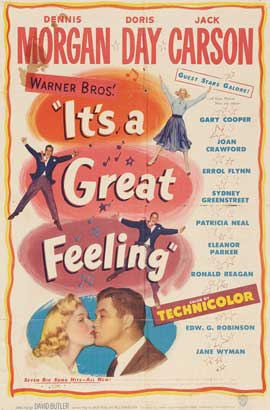 It's a Great Feeling - 11 x 17 Movie Poster - Style B