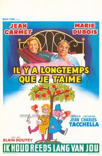 It's a Long Time I've Loved You - 27 x 40 Movie Poster - Belgian Style A