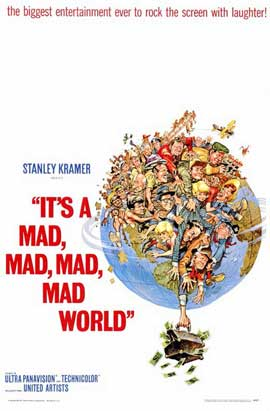 It's a Mad, Mad, Mad, Mad World - 11 x 17 Movie Poster - Style A
