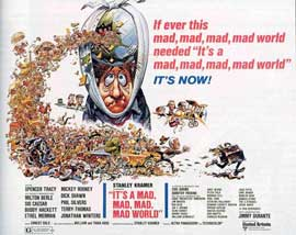 It's a Mad, Mad, Mad, Mad World - 11 x 14 Movie Poster - Style A