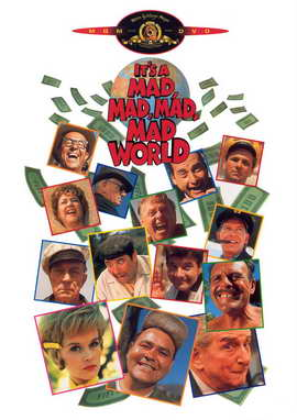 It's a Mad, Mad, Mad, Mad World - 11 x 17 Movie Poster - Style E