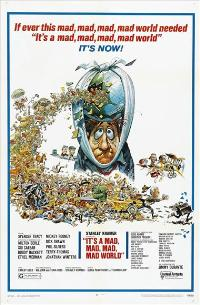 It's a Mad, Mad, Mad, Mad World - 27 x 40 Movie Poster - Style B