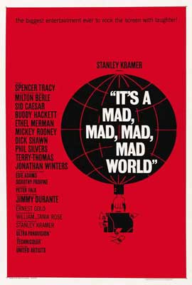 It's a Mad, Mad, Mad, Mad World - 27 x 40 Movie Poster - Style C