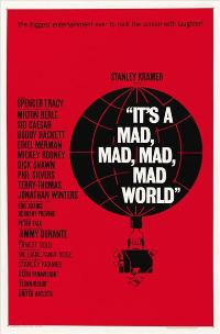 It's a Mad, Mad, Mad, Mad World - 43 x 62 Movie Poster - Bus Shelter Style B