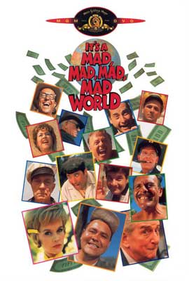 It's a Mad, Mad, Mad, Mad World - 27 x 40 Movie Poster - Style D