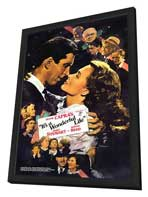 It's a Wonderful Life - 11 x 17 Movie Poster - Style G - in Deluxe Wood Frame