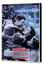 It's a Wonderful Life - 27 x 40 Movie Poster - Style C - Museum Wrapped Canvas