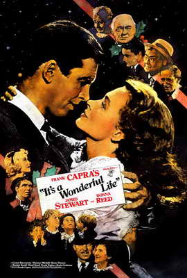 It's a Wonderful Life - 11 x 17 Movie Poster - Style G