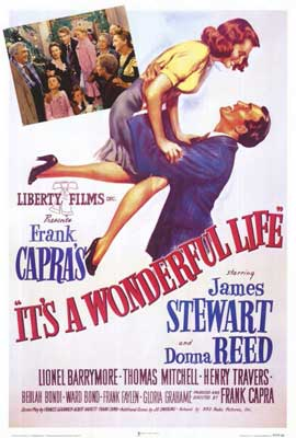 It's a Wonderful Life - 27 x 40 Movie Poster - Style E