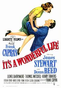 It's a Wonderful Life - 43 x 62 Movie Poster - Bus Shelter Style A