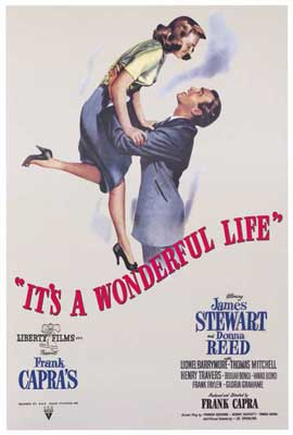 It's a Wonderful Life - 27 x 40 Movie Poster - Italian Style A