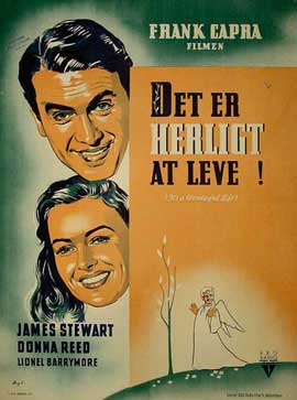 It's a Wonderful Life - 11 x 17 Movie Poster - Danish Style A