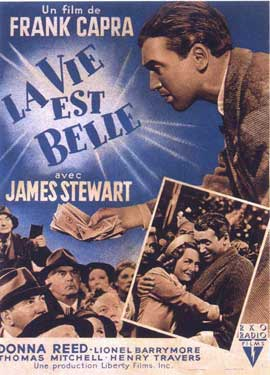 It's a Wonderful Life - 11 x 17 Movie Poster - French Style A