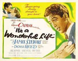 It's a Wonderful Life - 11 x 14 Movie Poster - Style E