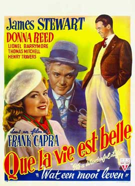 It's a Wonderful Life - 27 x 40 Movie Poster - Belgian Style A