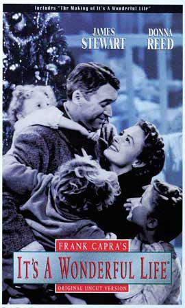It's a Wonderful Life - 11 x 17 Movie Poster - Style E