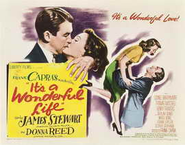 It's a Wonderful Life - 22 x 28 Movie Poster - Half Sheet Style A