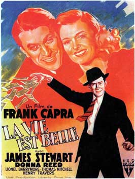It's a Wonderful Life - 11 x 17 Movie Poster - French Style B