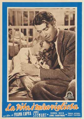 It's a Wonderful Life - 11 x 17 Movie Poster - Italian Style A
