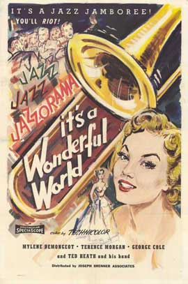 It's a Wonderful World - 11 x 17 Movie Poster - Style A