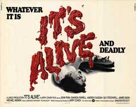 It's Alive - 11 x 14 Movie Poster - Style B