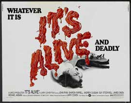 It's Alive - 22 x 28 Movie Poster - Half Sheet Style A
