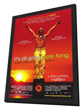 It's All Gone Pete Tong - 27 x 40 Movie Poster - Style C - in Deluxe Wood Frame