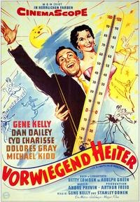 It's Always Fair Weather - 11 x 17 Movie Poster - German Style A