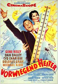 It's Always Fair Weather - 27 x 40 Movie Poster - German Style A