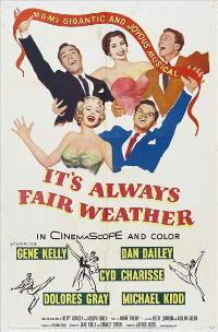 It's Always Fair Weather - 11 x 17 Movie Poster - Style A