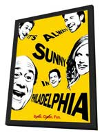 It's Always Sunny in Philadelphia - 27 x 40 Movie Poster - Style A - in Deluxe Wood Frame
