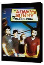 It's Always Sunny in Philadelphia - 11 x 17 TV Poster - Style A - Museum Wrapped Canvas