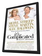 It's Complicated - 27 x 40 Movie Poster - Style B - in Deluxe Wood Frame