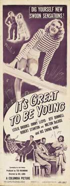 It's Great to Be Young! - 14 x 36 Movie Poster - Insert Style A