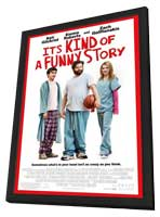It's Kind of a Funny Story - 11 x 17 Movie Poster - Style A - in Deluxe Wood Frame