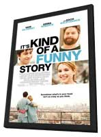 It's Kind of a Funny Story - 27 x 40 Movie Poster - Style B - in Deluxe Wood Frame