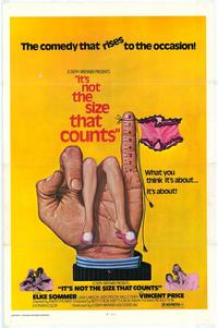 It's Not the Size That Counts - 27 x 40 Movie Poster - Style A