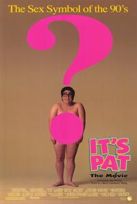 It's Pat: The Movie - 27 x 40 Movie Poster - Style A