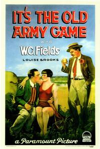 It's the Old Army Game - 43 x 62 Movie Poster - Bus Shelter Style A