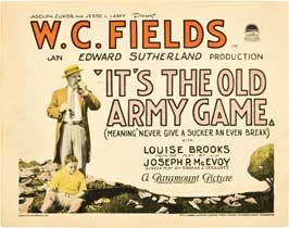 It's the Old Army Game - 22 x 28 Movie Poster - Half Sheet Style A