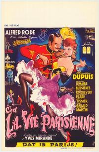 It's the Paris Life - 11 x 17 Movie Poster - Belgian Style A