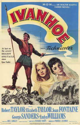 Ivanhoe - 11 x 17 Movie Poster - Style B