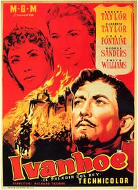 Ivanhoe - 11 x 17 Movie Poster - Spanish Style A